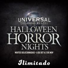 Halloween Horror Nights - Frequent Fear Plus Pass (Ingresso Eletrônico)