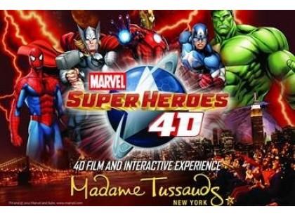 Madame Tussauds Gold Nova York